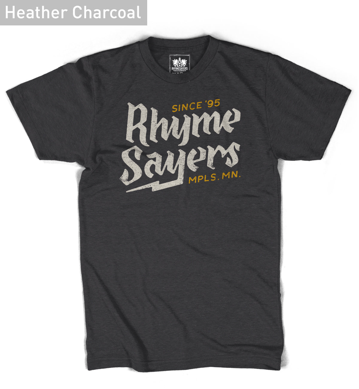 "Rhymesayers ""Retro"" Heather Charcoal Shirt"