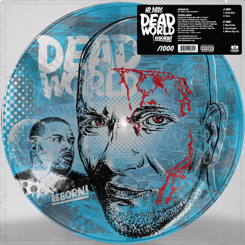 "Mr Dibbs ""Deadworld Reborn"" 12 inch Vinyl [Limited Picture Disc]"
