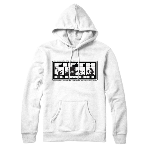 "Fifth Element ""OG"" White Hoodie (Pre-order)"