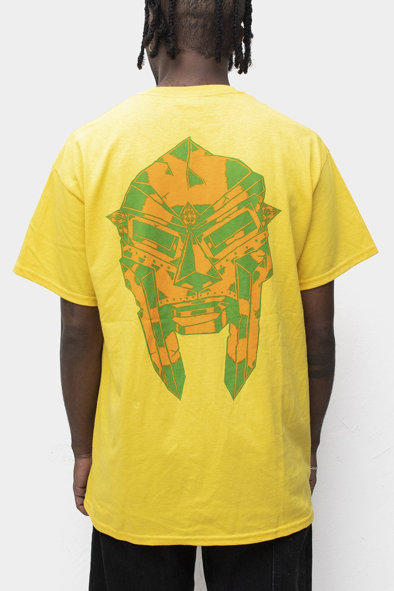 "MF DOOM ""Relic"" Canary Shirt"