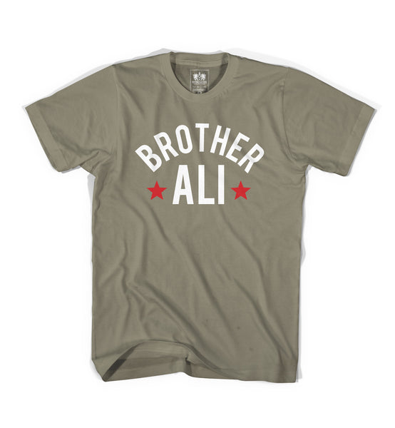 "Brother Ali ""Footsteps"" Olive Shirt"