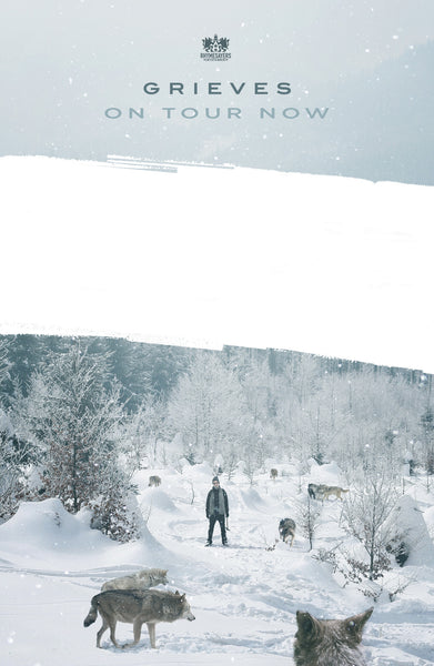 "Grieves ""Winter and the Wolves"" Poster"