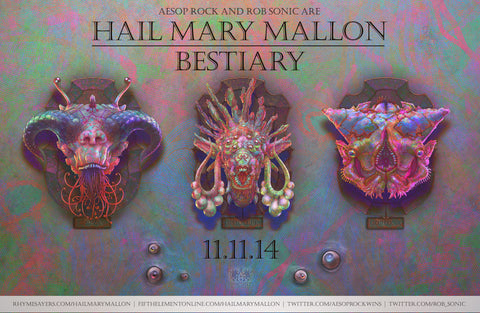 "Hail Mary Mallon ""Bestiary"" Poster"