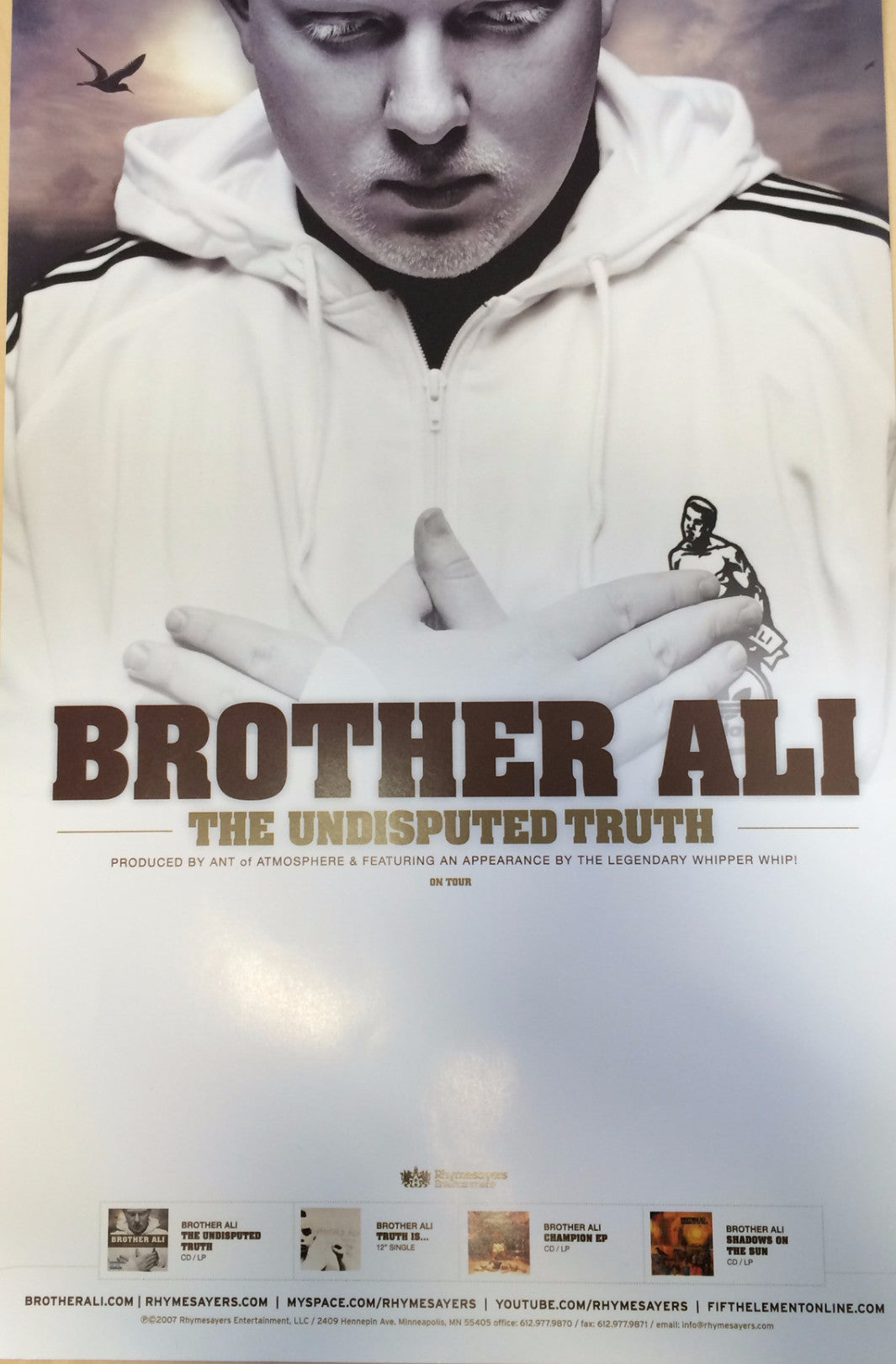 "Brother Ali ""Undisputed Truth"" Poster"