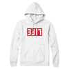 "Brother Ali ""LIFE"" White Hoodie"
