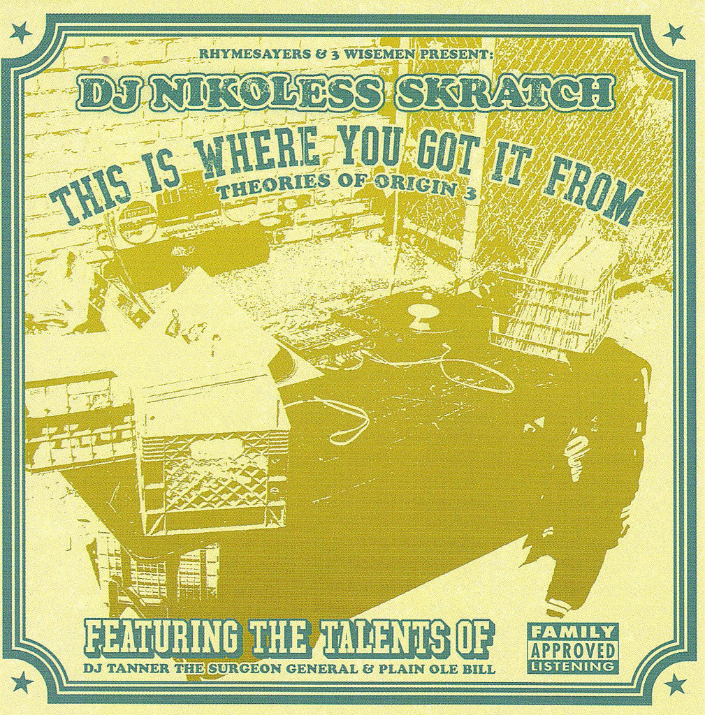 "Nikoless ""This Is Where You Got It From"" CD"