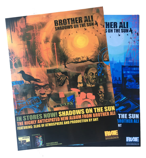 "Brother Ali ""Shadows On The Sun"" Poster"