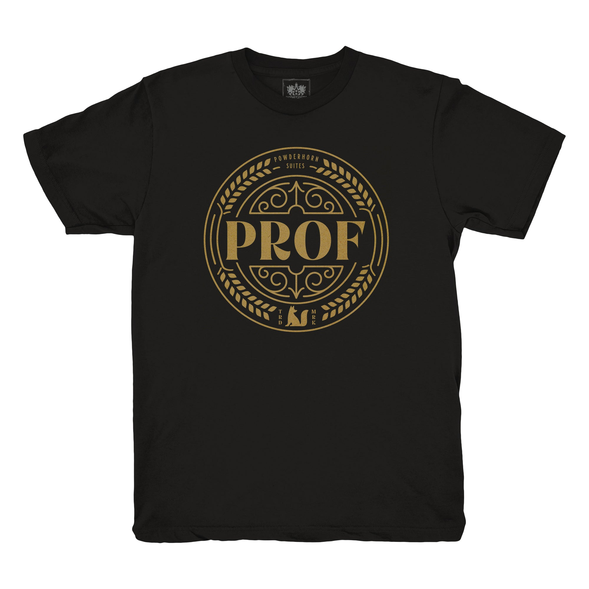 "Prof ""Powderhorn Suites"" Black Shirt [Pre-order]"