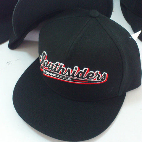 "Atmosphere ""Southsiders"" Black Snapback"