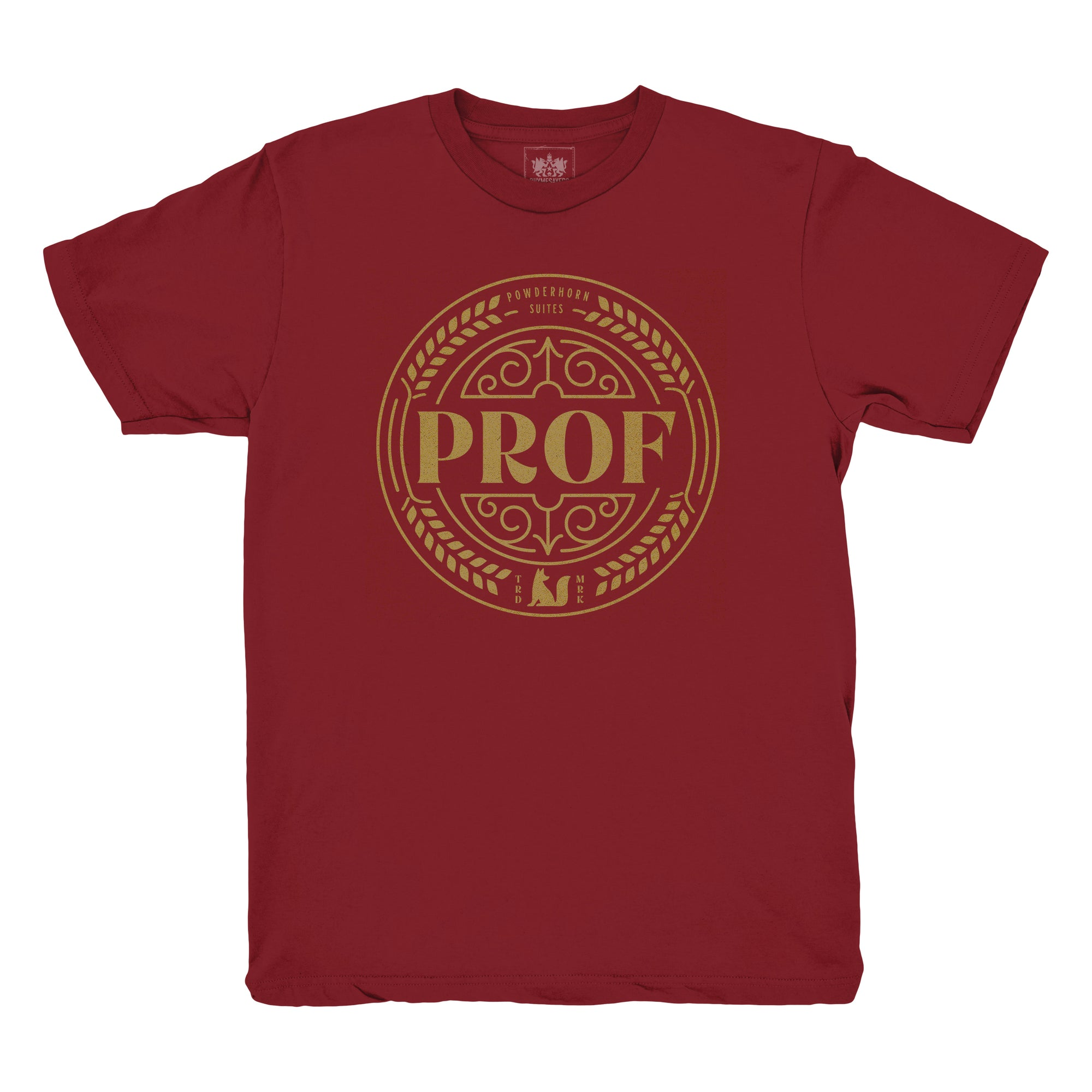 "Prof ""Powderhorn Suites"" Canvas Red Shirt [Pre-order]"