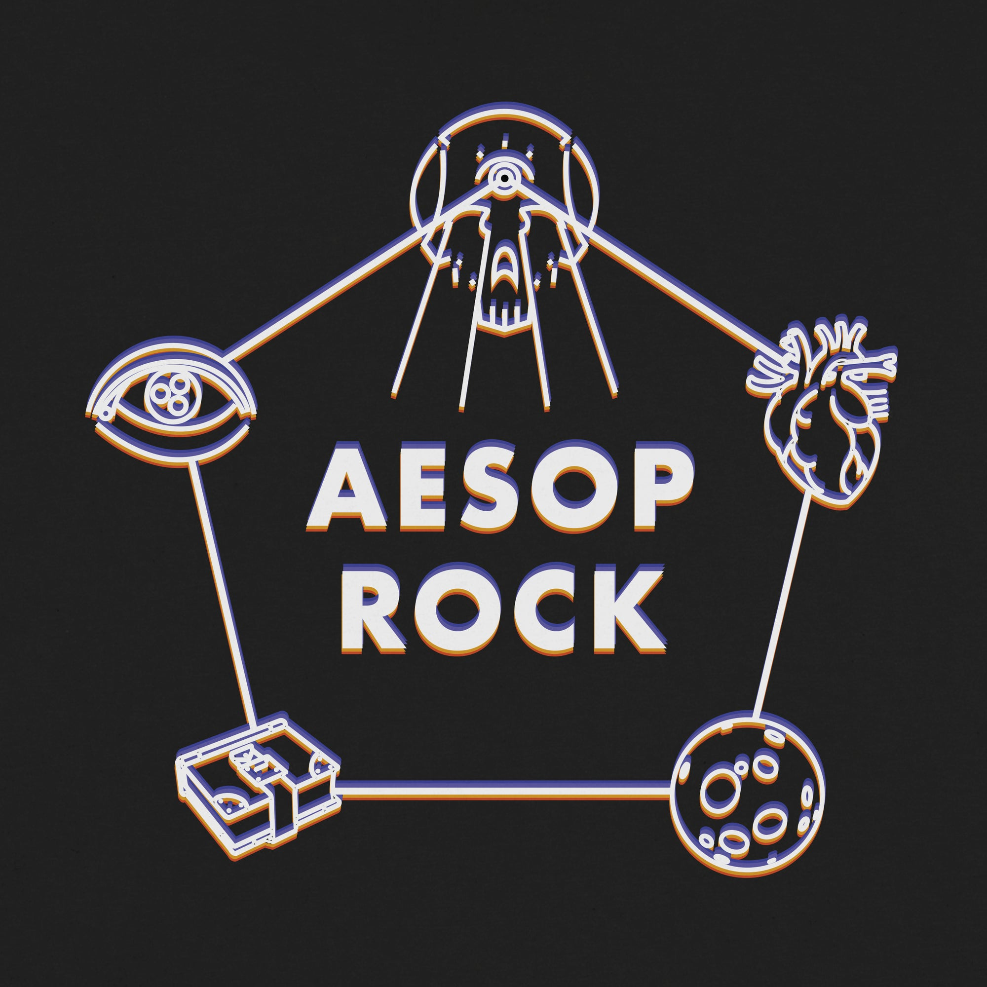 "Aesop Rock ""Icons"" Shirt"