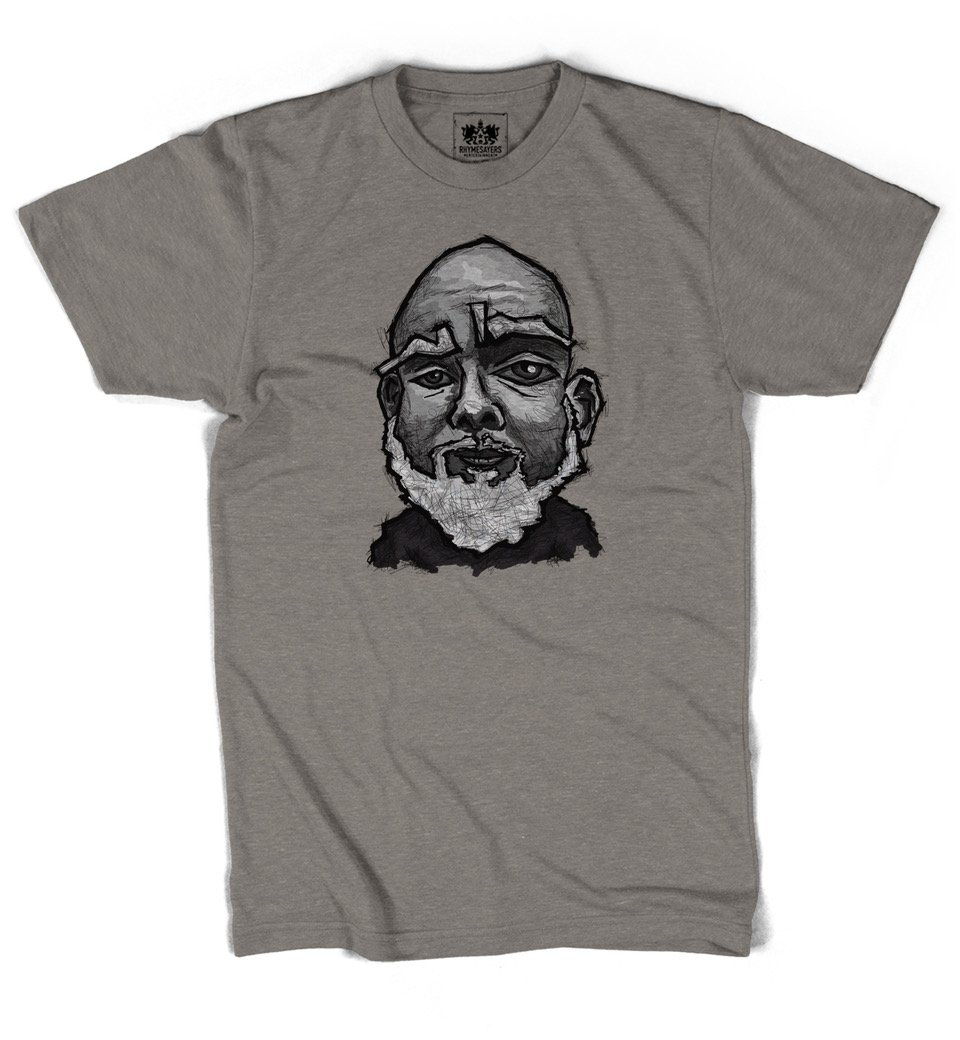 "Brother Ali ""Sensitive"" Stone Shirt"