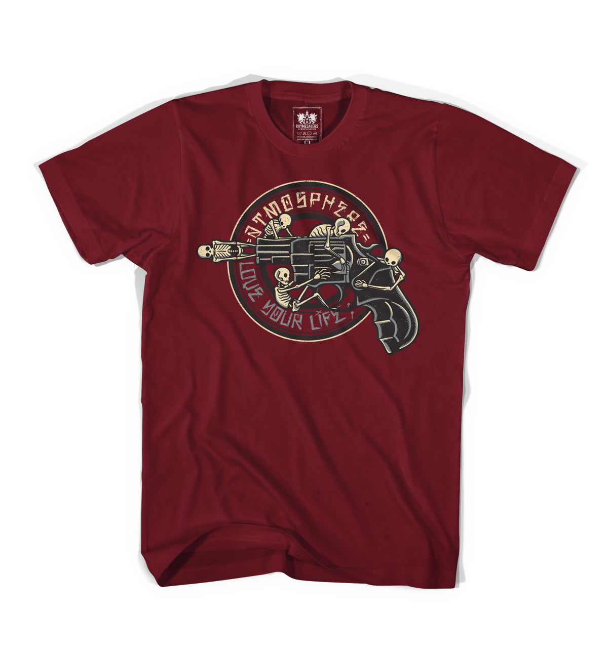 "Atmosphere ""Skelegun"" Cardinal Shirt"