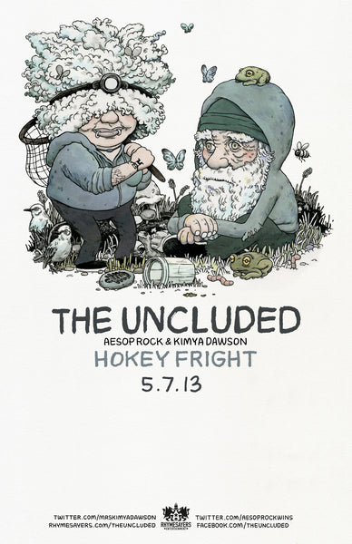 "The Uncluded ""Hokey Fright"" Poster"
