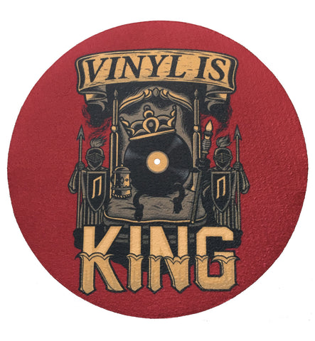 "Fifth Element ""Vinyl is King"" Turntable Slipmat"