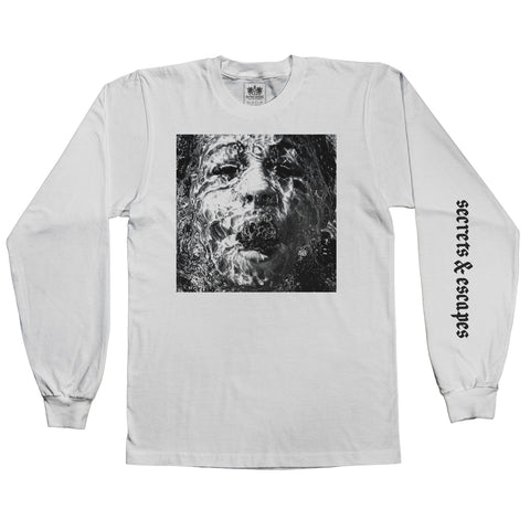 "Brother Ali ""Secrets & Escapes"" White Long Sleeve Shirt"
