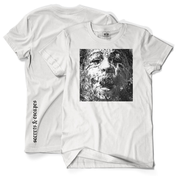 "Brother Ali ""Secrets & Escapes"" White T-Shirt"