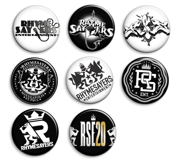 Rhymesayers Button Pack