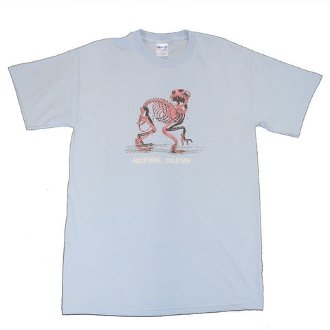 "Aesop Rock Blue ""Skelethon"" Shirt"