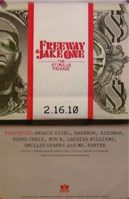 "Freeway ""Stimulus Package"" Poster"