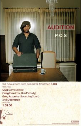 "P.O.S ""Audition"" Poster"