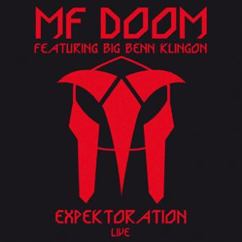 "MF Doom ""Expektoration Live"" CD"