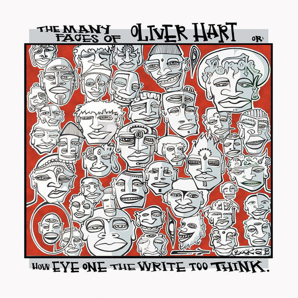 "Oliver Hart ""The Many Faces Of Oliver Hart"" 3X Etched Vinyl LP"