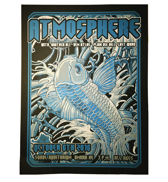 "Atmosphere ""Sokol Auditorium"" 18 x 24 Screenprint Poster"