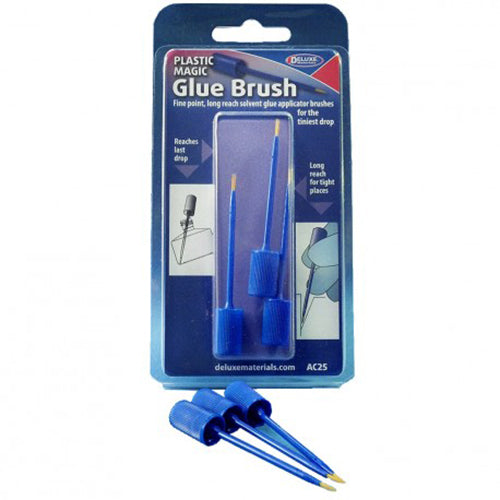 Plastic Magic Glue Brush pack
