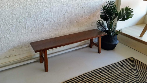 Bench Seat - Reclaimed 1931 Jarrah
