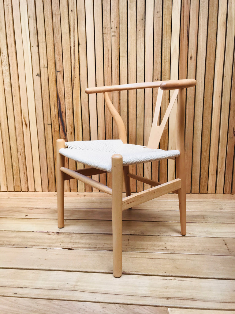 Wishbone A la Naturale Chair - NOOK AND NEST