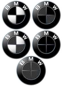 BMW Badge Decals
