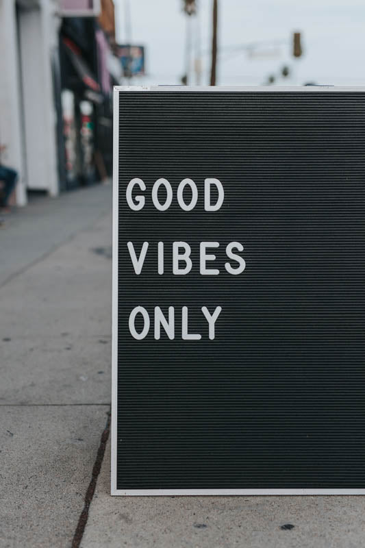 Good Vibes - Starte positiv in den Tag