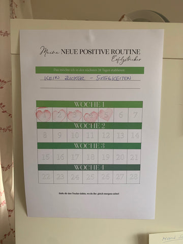 Tracker positive Routine