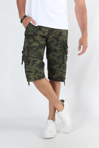 Cami Keyna Army Shorts
