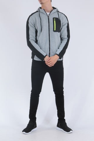 Chest Pocket Hoodie