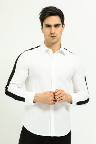 Black & White Styled Shirt