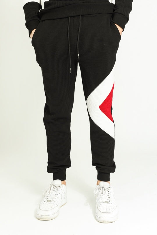 Single Triangle Printed Sweats