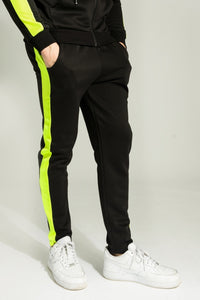 Fluo Yellow Slim Joggers