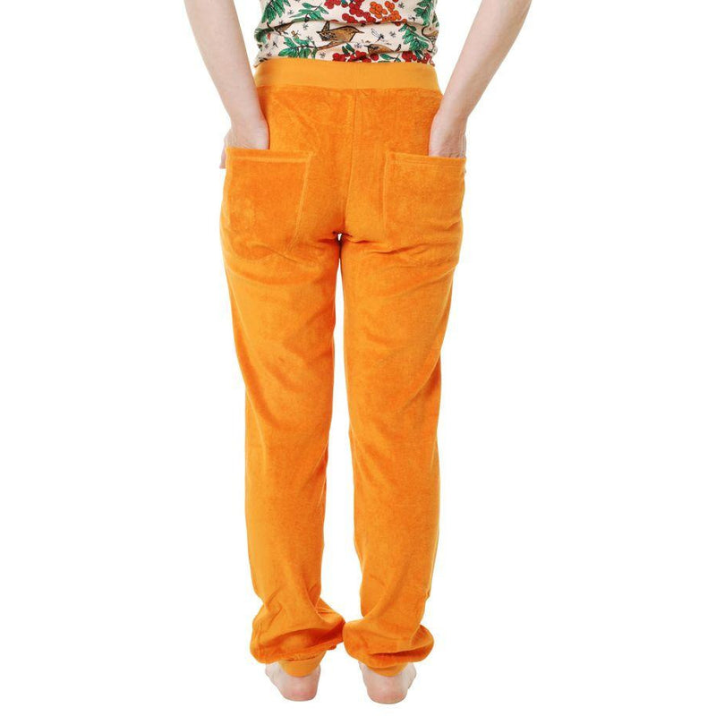DUNS Sweden Terry Trousers Orange