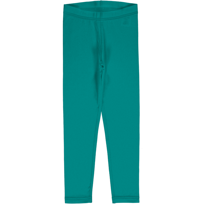 Maxomorra Winter 2020 Leggings Sweat Solid LAGOON