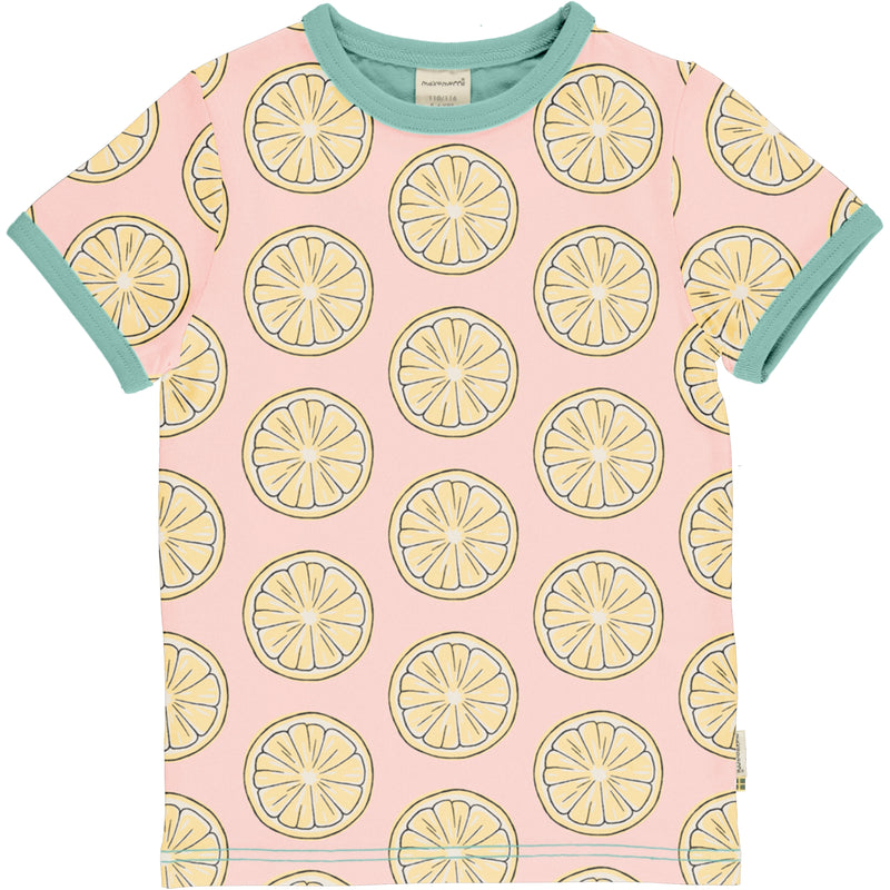 Maxomorra Summer 2020 B Top SS FRESH LEMON