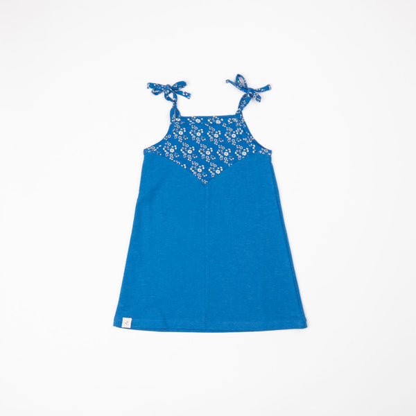 Alba SS21 Flower Dream Dress Snorkel Blue