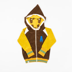 Alba of Denmark Robin Zipper Hoodie Ceylon Yellow sale