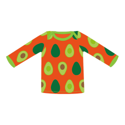 Pikolo Avocado Long Sleeved t-shirt