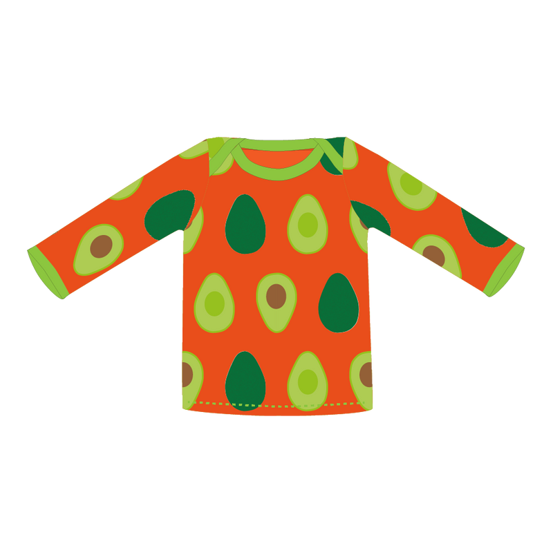 Pikolo Avocado Long Sleeved t-shirt sale