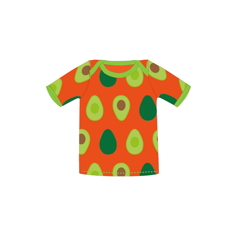 Pikolo Avocado short sleeve t-shirt