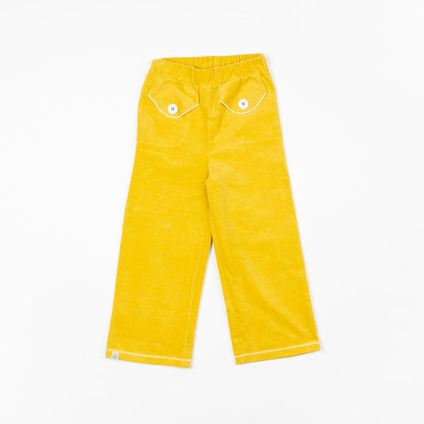 Alba of Denmark Flower Power Pants Bright Gold