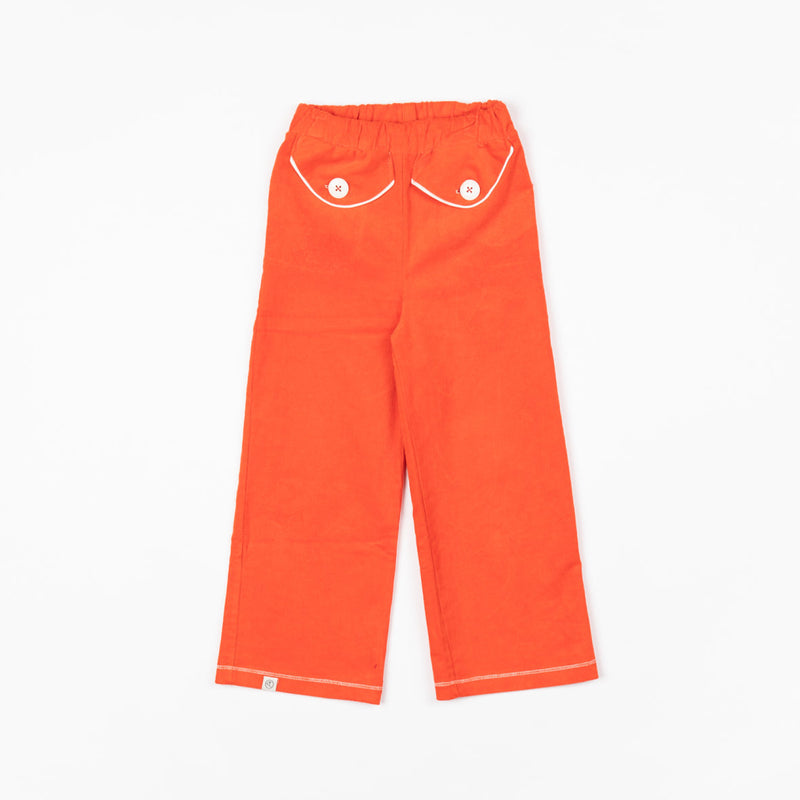 Alba of Denmark Flower Power Pants Spicy Orange sale