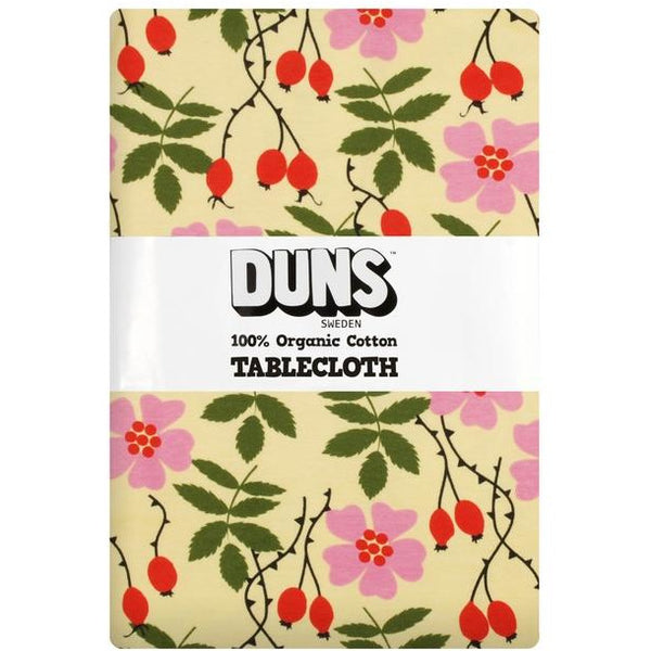 DUNS Sweden Winter Rosehip Tablecloth